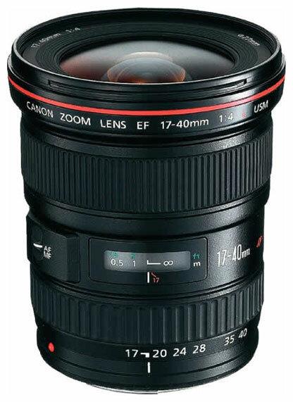 Canon Объектив Canon EF 17-40mm f/4L USM