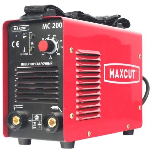 Фото - Сварочный аппарат MAXCUT MC 200 (MMA) мотобур maxcut mc 55 3 л с