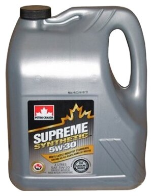 Petro-Canada Supreme synthetic 5W-30, (синтетика) 4л.
