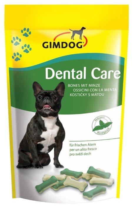 Лакомство для собак GimDog Dental Care с мятой