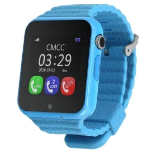 Детские умные часы c GPS Smart Baby Watch GW800S голубой детские умные часы c gps smart baby watch kt03 голубой синий