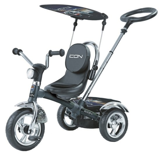 Трехколесный велосипед RT ICON 4 Black Mat Car
