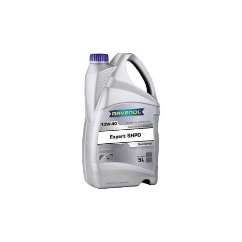 Фото - Полусинтетическое моторное масло Ravenol Expert SHPD 10W-40 5 л минеральное моторное масло mannol ts 3 shpd 10w 40 60 л
