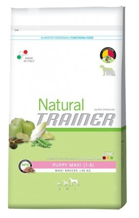 Корм для собак TRAINER Natural Puppy Maxi dry