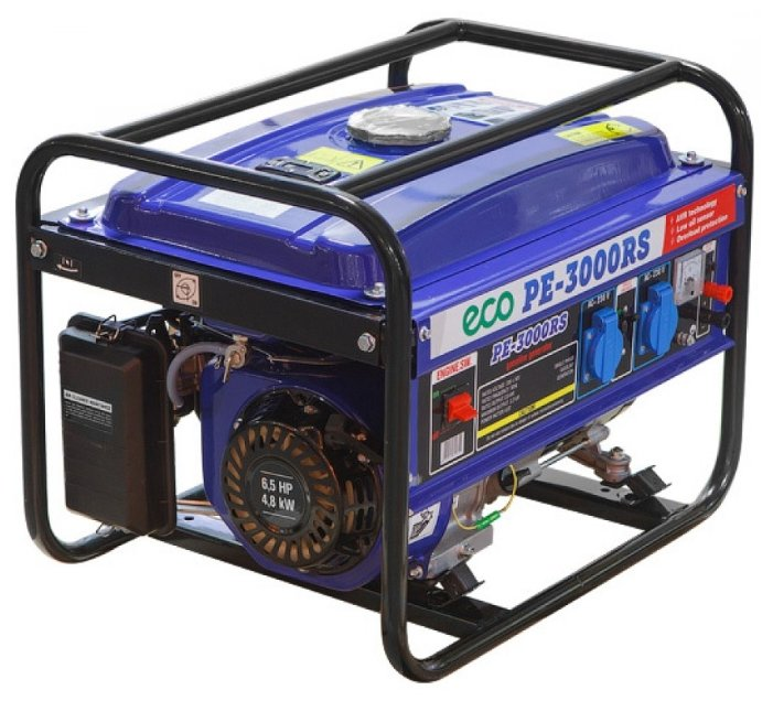 Бензиновый генератор Eco PE-3000RS (2200 Вт)