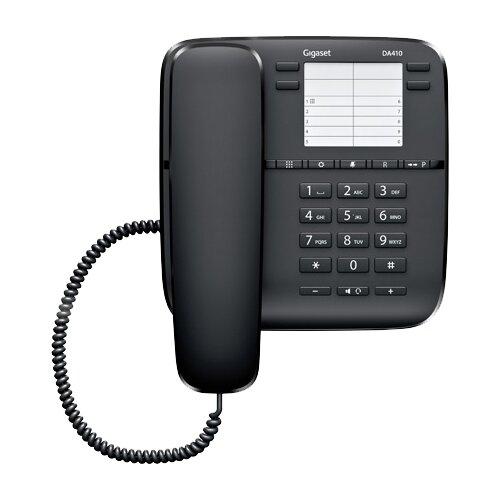 Телефон Gigaset DA410 черный телефон