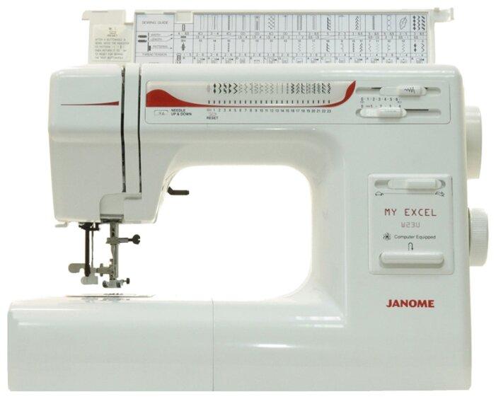 Janome My Excel W23U