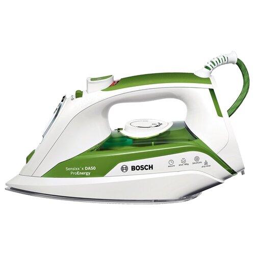 Фото - Утюг Bosch TDA 502412E зеленый/белый утюг bosch tda5028020 2800вт белый фиолетовый