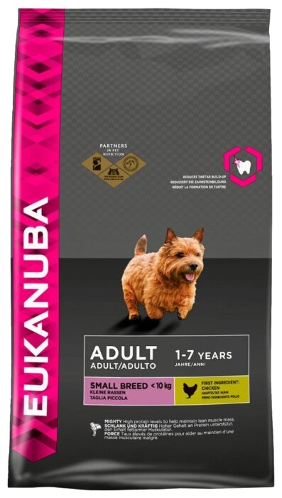 Корм для собак Eukanuba Adult Dry Dog Food For Small Breed Chicken