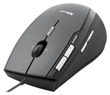 Мышь Trust Laser Mouse MI-6950R Black USB
