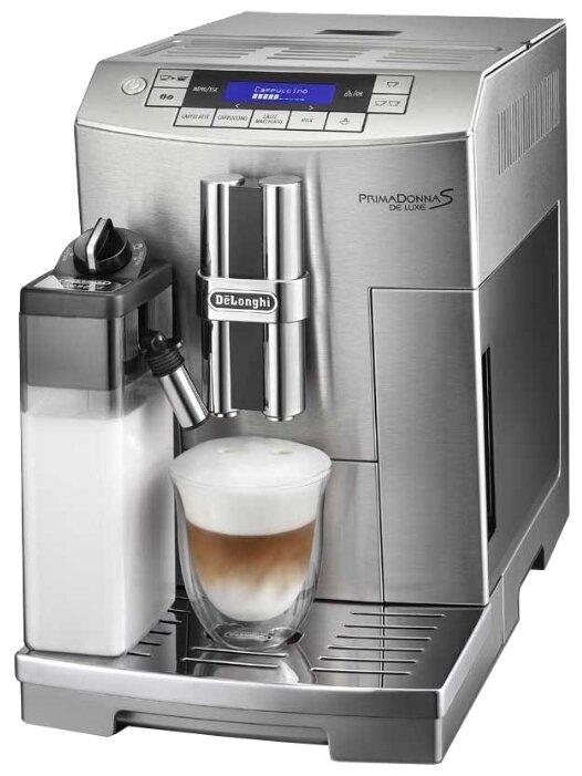 Кофемашина Delonghi ECAM 28.465 M/AZ/BG (серая)