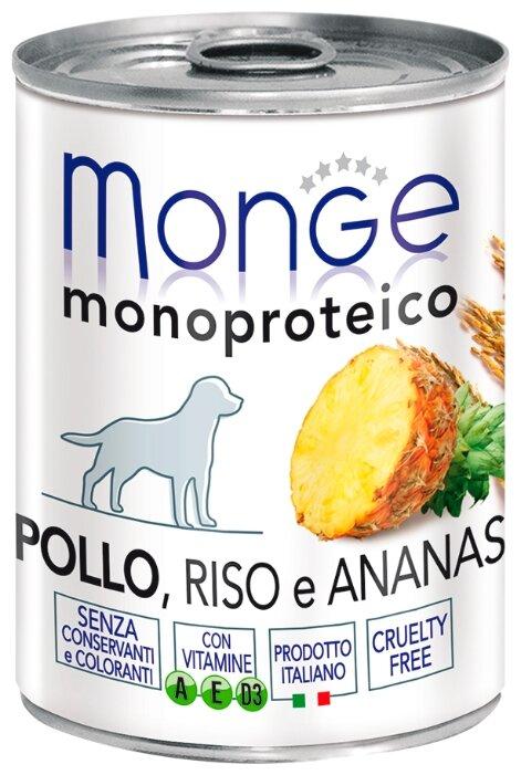 Корм для собак Monge Monoprotein курица 400г