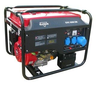 Бензиновый генератор ELITECH БЭС 6500 EM (5000 Вт)