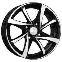 Диск колесный K&K Игуана 5.5x14/4x100 D67.1 ET35 Алмаз черный