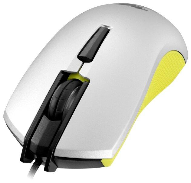 Мышь COUGAR 230M White-Yellow USB