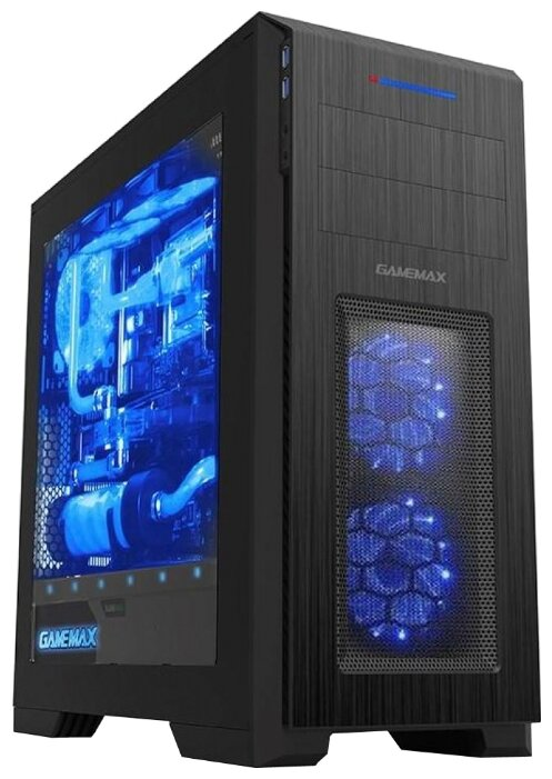 GameMax Компьютерный корпус GameMax M907 Kallis Black