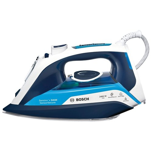 Фото - Утюг Bosch TDA 5024210 синий/белый утюг bosch tda5028020 2800вт белый фиолетовый