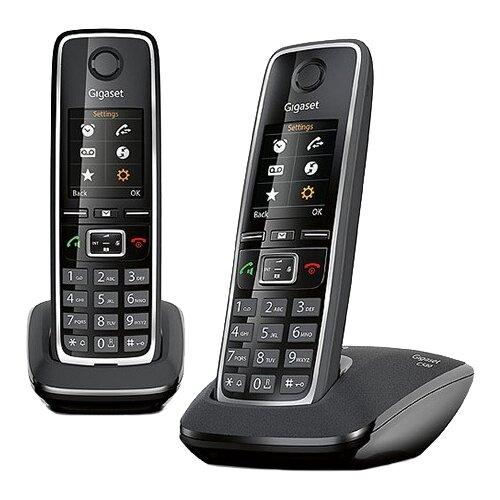 Купить Радиотелефон Gigaset C530 Duo черный