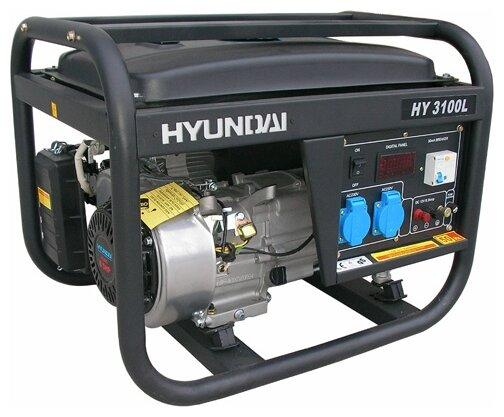 Бензиновая электростанция Hyundai HY3100LE