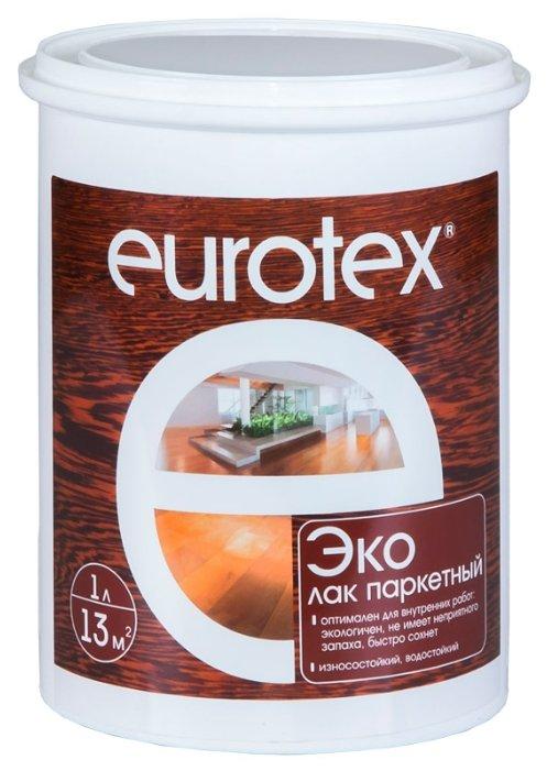 Лак EUROTEX Эко полуматовый (1 л) акрил-уретановый — купить по выгодной цене на Яндекс.Маркете
