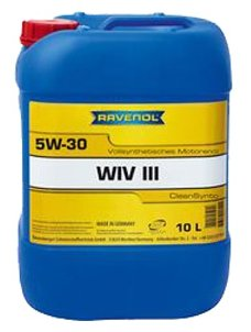 Моторное масло Ravenol WIV III SAE 5W-30 10 л