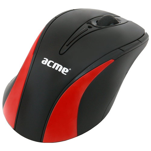 Мышь ACME Optical Mouse MA03 Black-Red USB