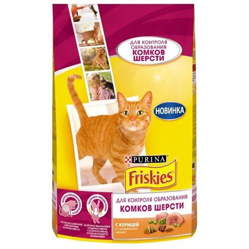Корм для кошек Friskies для вывода шерсти, с курицей 1.5 кгКорма для кошек<br>