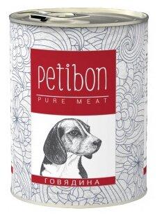 Корм для собак Petibon 100% meat Говядина для собак (0.34 кг) 1 шт.