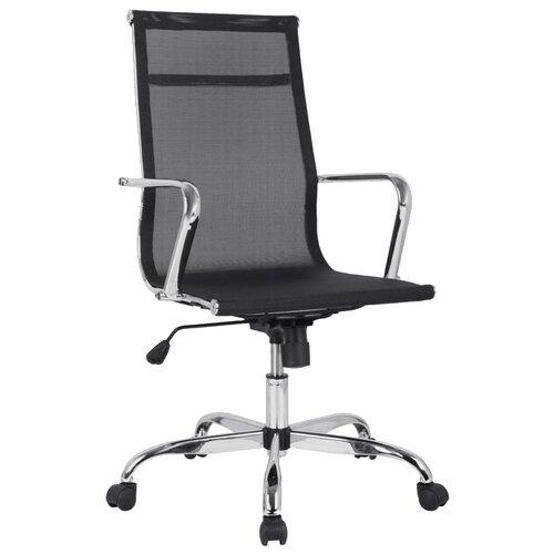 цена Компьютерное кресло College H-966F-1, обивка: текстиль, цвет: черный онлайн в 2017 году