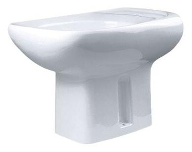 Биде напольное Оскольская керамика Альфана биде с горизонтальным выпуском