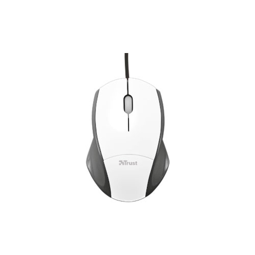 Мышь Trust CoZa Mouse White USB