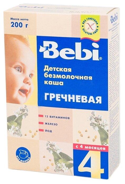 Каша Bebi безмолочная гречневая (с 4 месяцев) 200 г