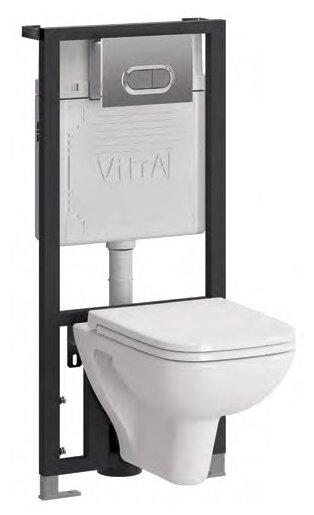 Унитаз с инсталляцией VitrA S20 9004B003-7204