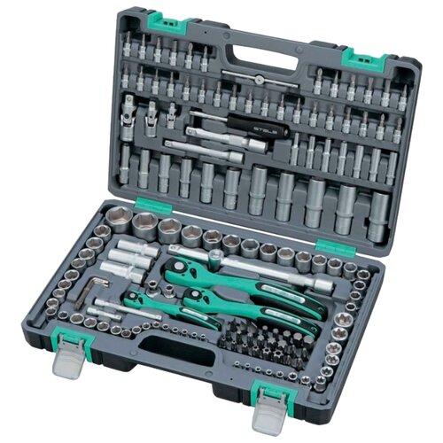 Набор автомобильных инструментов STELS (151 шт.) 14114Наборы инструментов и оснастки<br>