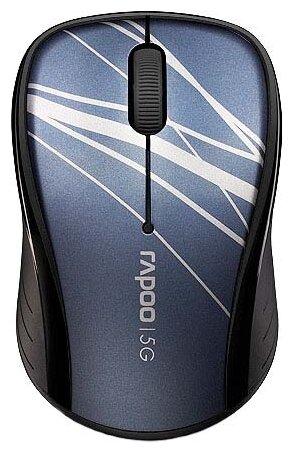 Мышь Rapoo 3100p Blue USB