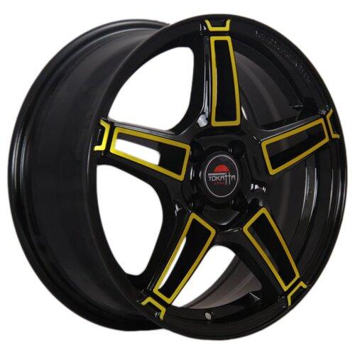 цена на Колесный диск Yokatta Model-35 7x17/5x114.3 D60.1 ET45 BK+Y