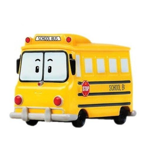 Купить Автобус Silverlit Робокар Поли Скулби (83174) 6 см желтый, Машинки и техника