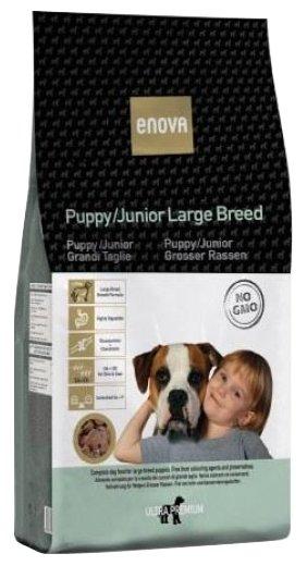 Корм для собак ENOVA Puppy/Junior Large Breed сухой корм для щенков