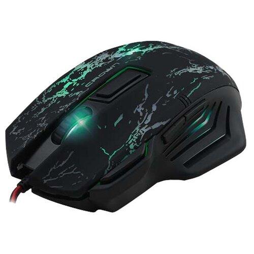 Мышь CROWN MICRO CMXG-601 Black USB черный игровая мышь crown gaming cmxg 605 black gold