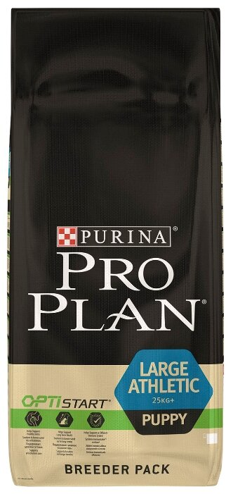 Корм для собак Purina Pro Plan Large Athletic Puppy сanine Chicken with Rice dry