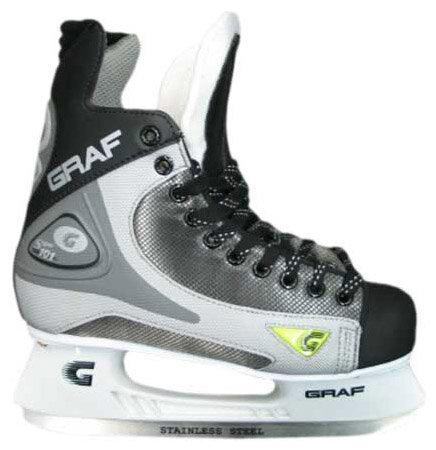 Детские хоккейные коньки GRAF Super 101 для мальчиков