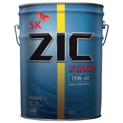 цена на Моторное масло ZIC X5000 15W-40 20 л