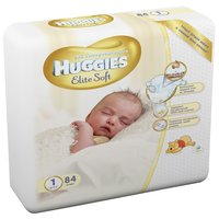Huggies  Elite Soft 1 (до 5 кг)
