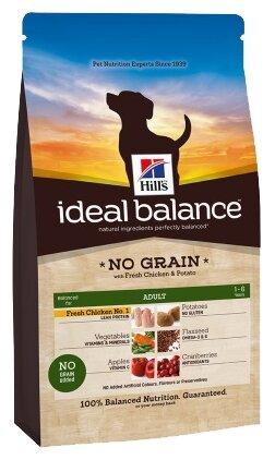 Корм для собак Hill's Ideal Balance Canine Adult No Grain with Fresh Chicken & Potato dry