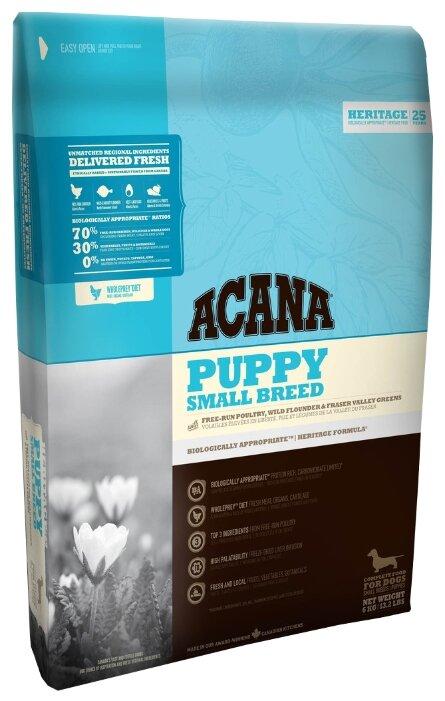 Сухой корм Корм для собак Acana Acana (6 кг) Heritage Puppy Small Breed