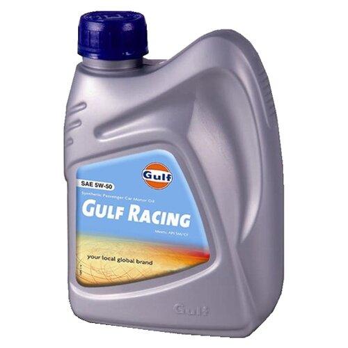Моторное масло Gulf Racing 5W-50 1 л моторное масло gulf multi g 20w 50 1 л