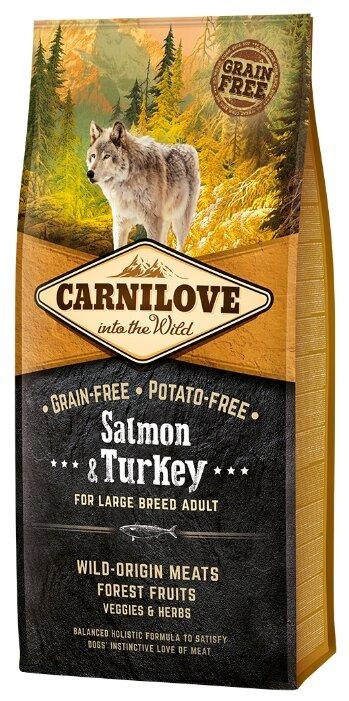 Корм для собак Carnilove Salmon & Turkey for Large breed adult dogs