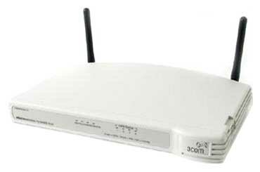 Wi-Fi роутер 3COM OfficeConnect ADSL Wireless 54 Mbps 11g Firewall Router