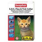 Beaphar Ошейник S.O.S. от блох и клещей для котят с двухмесячного возраста 35 см