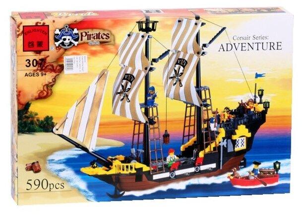 Конструктор Enlighten Brick Пираты 307 Приключения